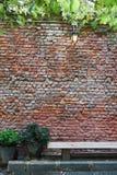 Alte Backsteinmauer Lizenzfreies Stockfoto