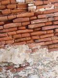 Alte Backsteinmauer Stockfoto