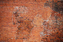 Alte Backsteinmauer Stockbild
