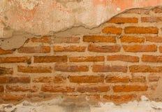 Alte Backsteinmauer Stockfotos