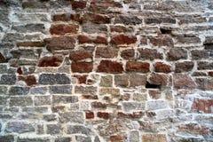 Alte alte Backsteinmauer Lizenzfreies Stockfoto