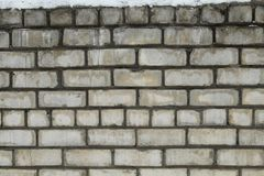 Alte Backsteinmauer als Hintergrund Lizenzfreie Stockfotos