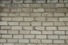 Alte Backsteinmauer als Hintergrund Stockbild