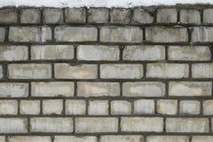 Alte Backsteinmauer als Hintergrund Lizenzfreie Stockfotografie