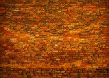 Alte Backsteinmauer als Hintergrund foto Stockfotografie