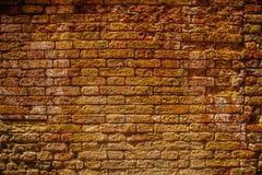 Alte Backsteinmauer als Hintergrund foto Lizenzfreie Stockfotos