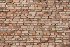Alte Backsteinmauer als Hintergrund oder Beschaffenheit Lizenzfreie Stockfotografie
