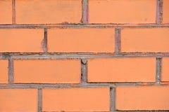 Alte Backsteinmauer, alte Beschaffenheit des roten Steins blockiert Nahaufnahme Lizenzfreie Stockfotos
