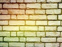 Alte Backsteinmauer , alte Beschaffenheit von roten Steinblöcken Lizenzfreies Stockbild