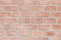 Alte Backsteinmauer in der Dekorationsarchitektur für das Design backgro Stockfoto