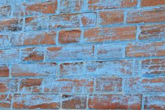 Alte Backsteinmauer des Hintergrunds Lizenzfreies Stockbild