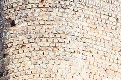 Alte Backsteinmauer des Schmutzes des verlassenen Gebäudes, Beschaffenheit Stockbilder
