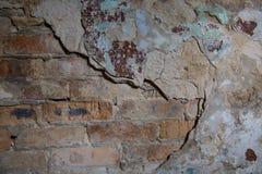 Alte Backsteinmauer in einem Hintergrund Lizenzfreie Stockbilder