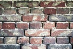 Alte Backsteinmauer für Beschaffenheit oder Hintergrund Stockbild