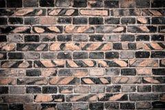 Alte Backsteinmauer für Beschaffenheit oder Hintergrund Lizenzfreie Stockbilder