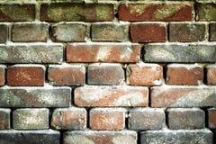 Alte Backsteinmauer für Beschaffenheit oder Hintergrund Lizenzfreie Stockfotografie
