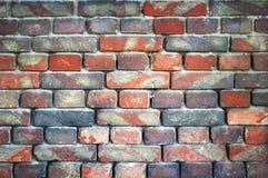 Alte Backsteinmauer für Beschaffenheit oder Hintergrund Stockfoto