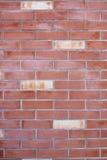 Alte Backsteinmauer für den Hintergrund Lizenzfreies Stockfoto