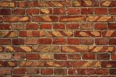 Alte Backsteinmauer für des Hintergrundes, Brauner und Roter Farbe der Beschaffenheit oder Stockbilder