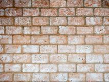 Alte Backsteinmauer für Hintergrund Stockbild