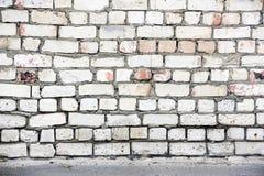 Alte Backsteinmauer für Hintergrund Stockfotos