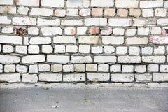 Alte Backsteinmauer für Hintergrund Lizenzfreie Stockbilder