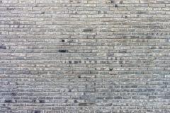 Alte Backsteinmauer für Hintergrund und Beschaffenheit Stockfoto
