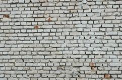 Alte Backsteinmauer gemalt Lizenzfreie Stockfotografie