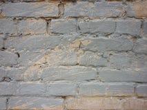 Alte Backsteinmauer gemalter Graffitibeschaffenheitshintergrund Lizenzfreie Stockfotos