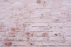 Alte Backsteinmauer gemalter Hintergrund Stockfotos
