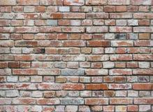 Alte Backsteinmauer gemasert Stockfoto