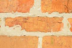 Alte Backsteinmauer Geometrische Verzierung auf einem alten Papier Nahaufnahme Lizenzfreies Stockfoto