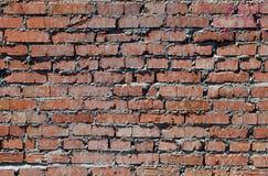 Alte Backsteinmauer, Hintergrund, Beschaffenheits-Reihe Lizenzfreie Stockfotos