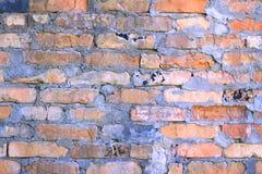 Alte Backsteinmauer im Gefängnis Lizenzfreies Stockfoto
