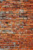 alte Backsteinmauer masern uns als Tapete Lizenzfreies Stockfoto