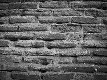 Alte Backsteinmauer masert Hintergrund Stockbild