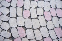 Alte Backsteinmauer mit Weiß und Hintergrund der roten Backsteine Weinlesebacksteinmauerbeschaffenheit Lizenzfreies Stockfoto