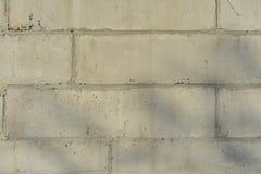 Alte Backsteinmauer mit Weiß und Hintergrund der roten Backsteine Weinlesebacksteinmauerbeschaffenheit Lizenzfreie Stockfotografie