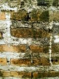 Alte Backsteinmauer mit Zement Trace Texture Background Lizenzfreies Stockfoto