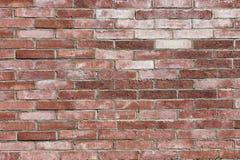 Alte Backsteinmauer regelmäßig eingelegt Stockfotos