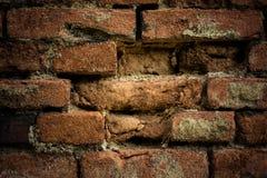 Alte Backsteinmauer Retro- Hintergrund Lizenzfreie Stockfotografie