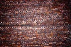 Alte Backsteinmauer, Retro- Hintergrundbeschaffenheitsmaurerarbeit Stockfotografie