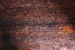 Alte Backsteinmauer, Retro- Hintergrundbeschaffenheitsmaurerarbeit Lizenzfreies Stockfoto