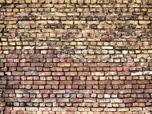 Alte Backsteinmauer, Steinbeschaffenheit für Hintergrunddesign Lizenzfreie Stockbilder
