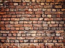 Alte Backsteinmauer, Steinbeschaffenheit für Hintergrunddesign Lizenzfreies Stockfoto