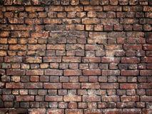 Alte Backsteinmauer, Steinbeschaffenheit für Hintergrunddesign Stockfoto