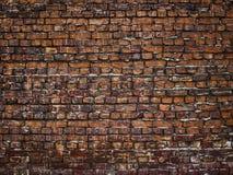 Alte Backsteinmauer, Steinbeschaffenheit für Hintergrunddesign Stockbild