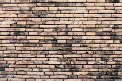 Alte Backsteinmauer, unterschiedliches sortiert und rot, Orange und Gelb machen i Lizenzfreie Stockfotografie