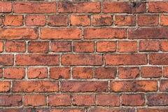 Alte Backsteinmauer von den roten Backsteinen Stockfotos