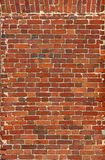 alte Backsteinmauer von roten Backsteinen Sehen Sie meine anderen Arbeiten im Portfolio Stockbild